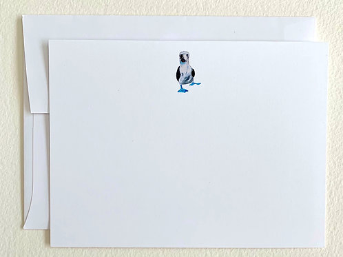 Blue-Footed Booby Notecards