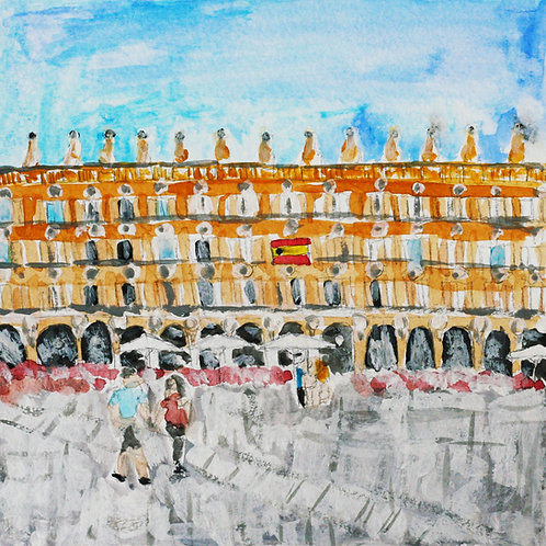Plaza Mayor Print