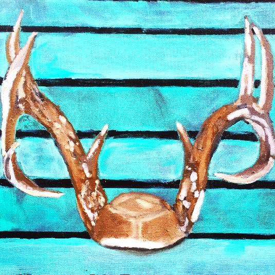 """Drift Wood Antlers"""
