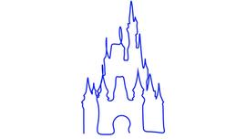Disney Castle (One Line).png