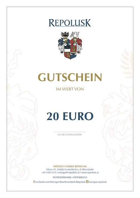 GUTSCHEIN per Post