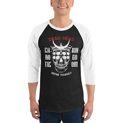 Chaotic Kingdom - 3/4 sleeve raglan shirt