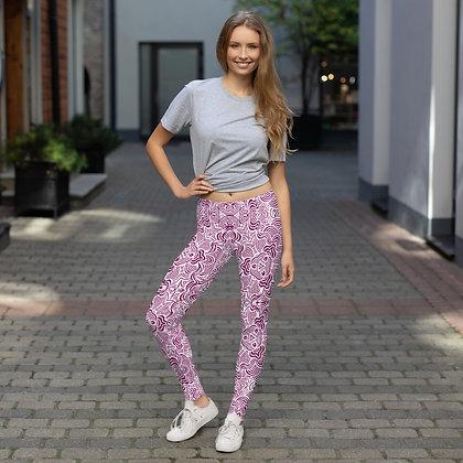 Floral Pattern - Leggings