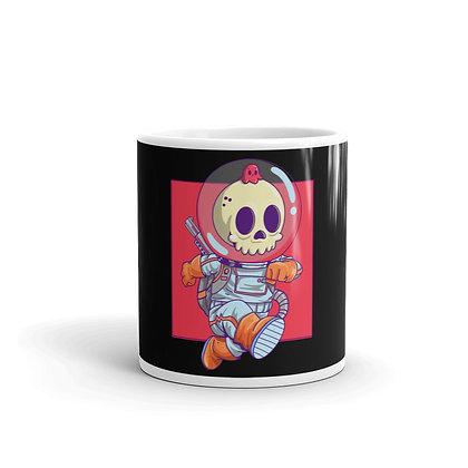deadonaut design on mugs - Dead head merchandise