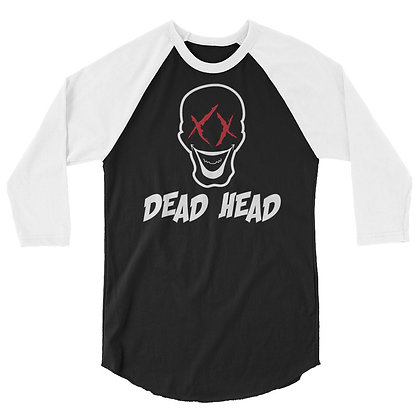Dead Head - 3/4 sleeve raglan shirt
