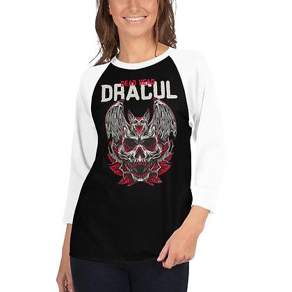 Dracul - 3/4 sleeve raglan shirt