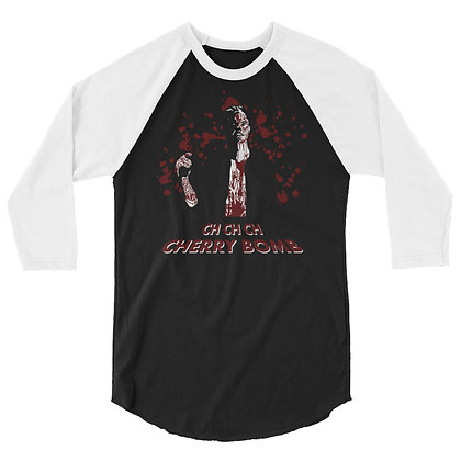 Cherry Bomb - 3/4 sleeve raglan shirt