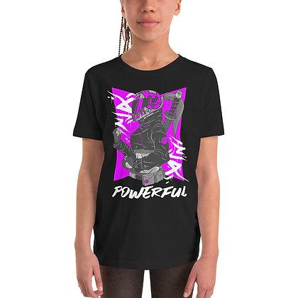 Powerful - Girl Short Sleeve T-Shirt