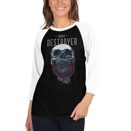Soul Destroyer - 3/4 sleeve raglan shirt