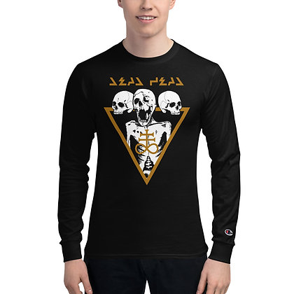 Cyber Death - Men's Champion Long Sleeve Shirt