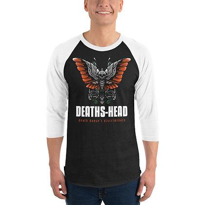 Deaths-Head - 3/4 sleeve raglan shirt