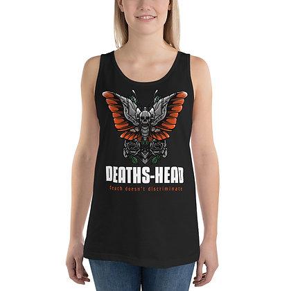 Dead head merchandise Deaths head heavy metal tank top for women
