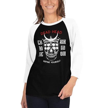 Chaotic Kingdom - 3/4 sleeve raglan shirt