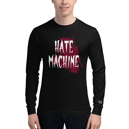 Hate Machine - Men's Champion Long Sleeve Shirt