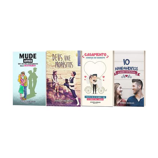 KIT 4 livros + Frete Grátis