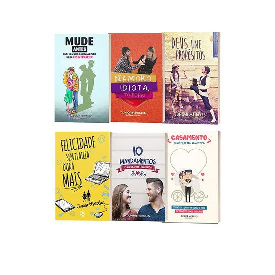 KIT 6 livros + Frete Grátis
