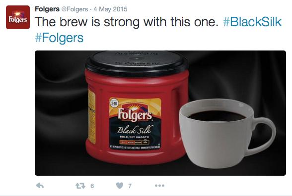 Folgers Social Post