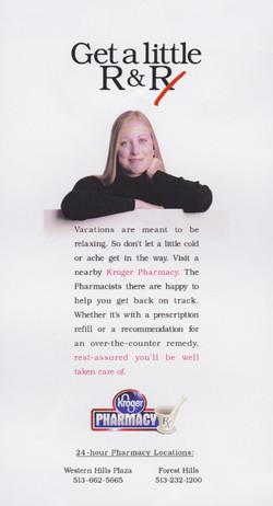 Kroger Pharmacy Print Ad