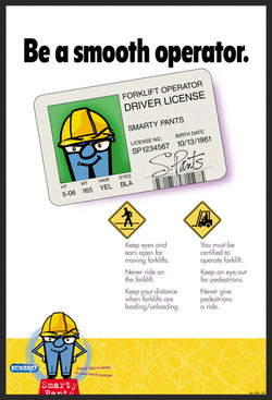 Eckered Smarty Pants Safety Poster