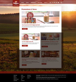 Folgers Iced Cafe Promotion Page