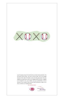 XOXO Print Ad