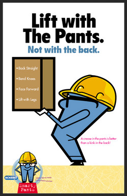 Eckerd Smarty Pants Safety Poster