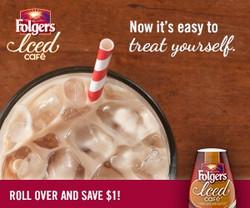 Folgers Iced Cafe Rich iMedia