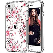 Floral Case w/Screen Protector