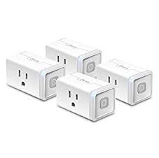 KASA Smart Home WiFi Outlet Plug 4 pk.