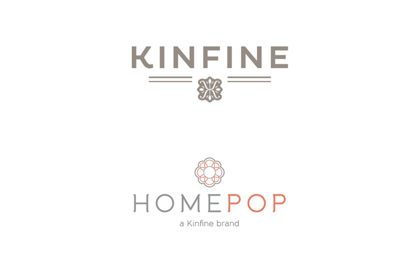 Kinfine-Homepop Logos