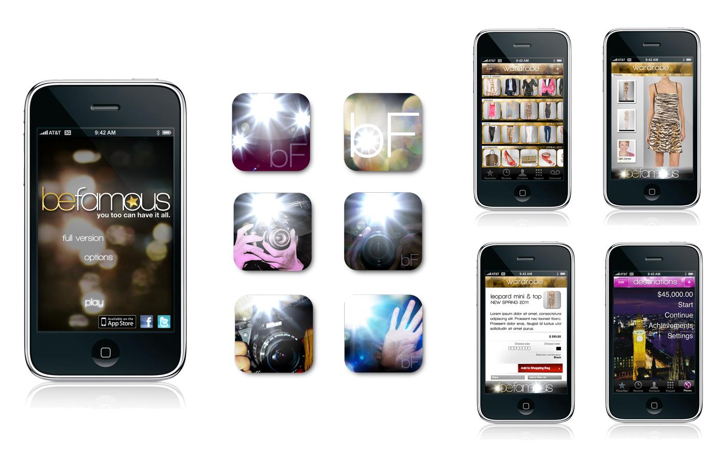 BeFamous App.