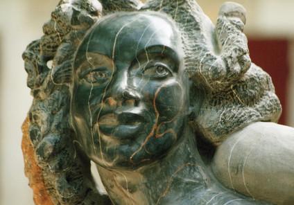 Carioca detail, marbre de Marquina, vein