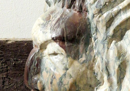 Indien UTA marbre de payolle violet et r