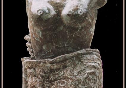 Caresse sensuelle, marbre rouge de Bidas