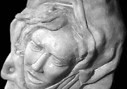 Madone italienne, marbre de Carrare.JPG