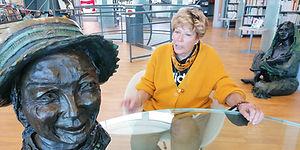 Bigata, l'itinéraire d'une femme sculpteur
