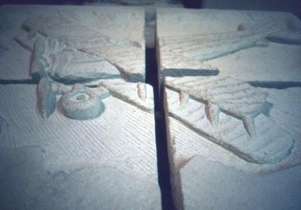 Avion en pierre du Cmdt Marzac, Spad 13.