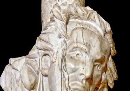 Christ aux douleurs, marbre de Carrare.j