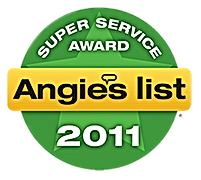 Centennial CO 80111 Angie's List Award 2011 Air Duct Cleaning