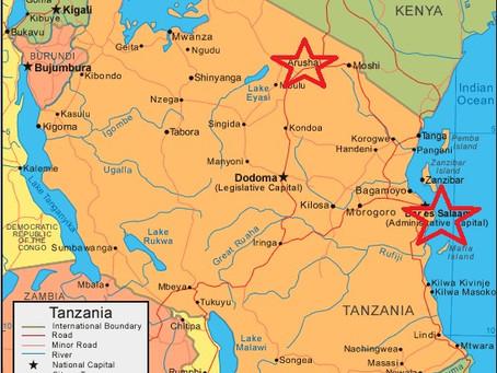 L'équipe de Hongdefa en Tanzanie pour une machine à moudre le 26 mai