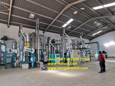 30 tonnes par jour usine de moulin à farine de maïs