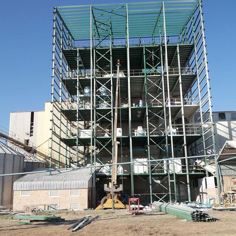 240 tonnes de machines à moudre le maïs en Zambie