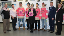 G-HAWKS GO PINK TO SUPPORT WOMEN'S CANCER RESEARCH
