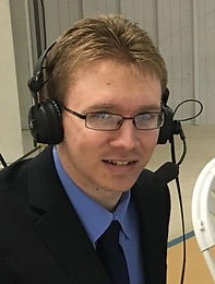 Brock Ormond calling play-by-play