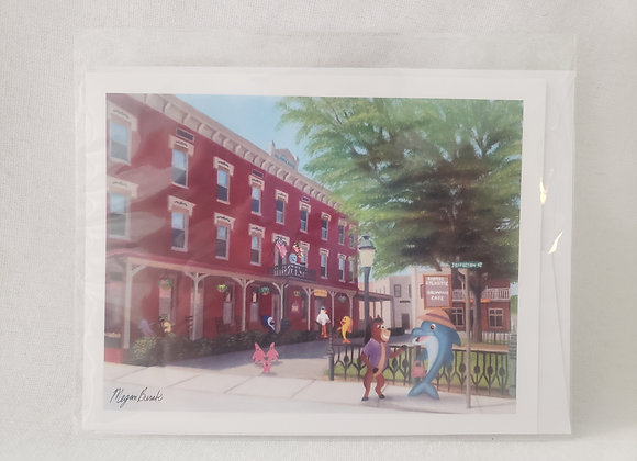 """Single Pack Notecard - """"Small Town Charm"""""""