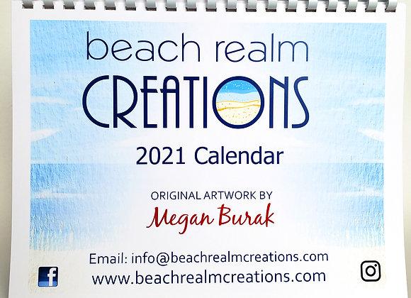 Beach Realm Creations 2021 Calendar