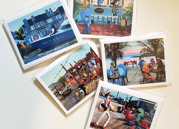 Notecards - Pack of 4