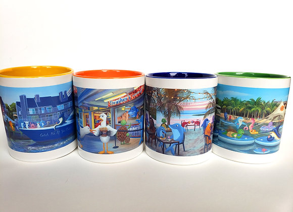 Mugs - Four Pack