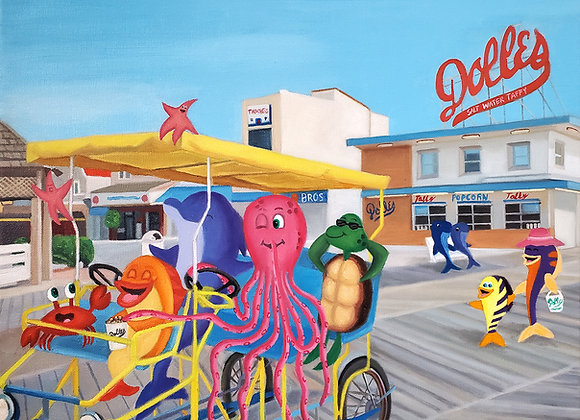 """A Sweet Ride"" 16x20 Giclee Print"