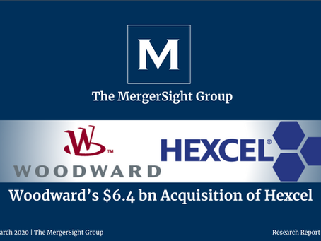 Woodward and Hexcel's $6.4 Billion Merger